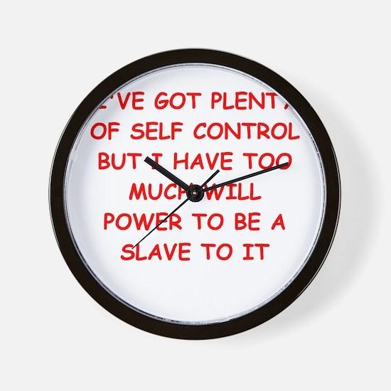 CONTROL Wall Clock