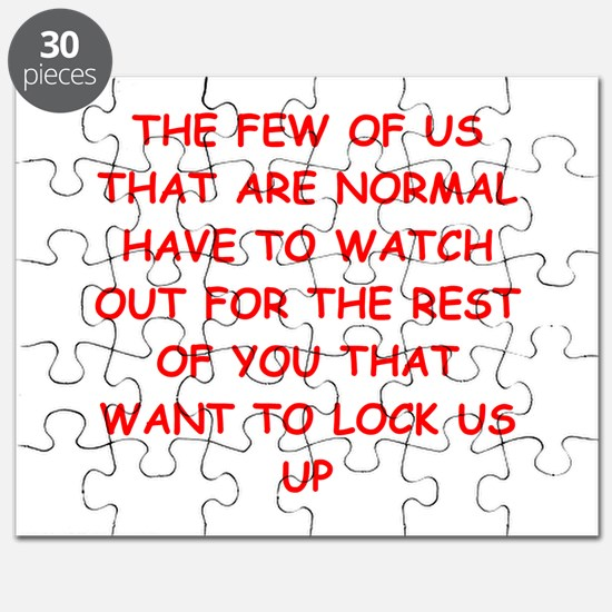 paranoid gifts t-shirts Puzzle