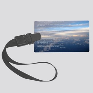 sky_new Large Luggage Tag