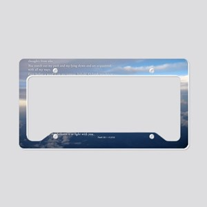 sky_new License Plate Holder
