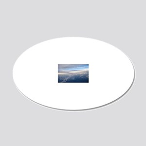 sky_new 20x12 Oval Wall Decal