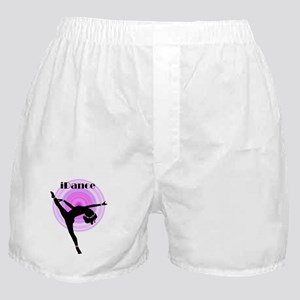 """iDance"" Purple Rainbow Boxer Shorts"