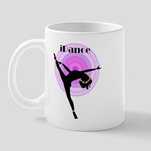 """iDance"" Purple Rainbow Mug"