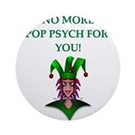pop psych Ornament (Round)