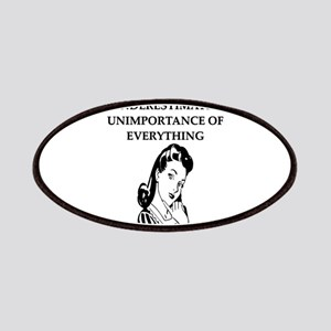 funny philosophy proverb Patches