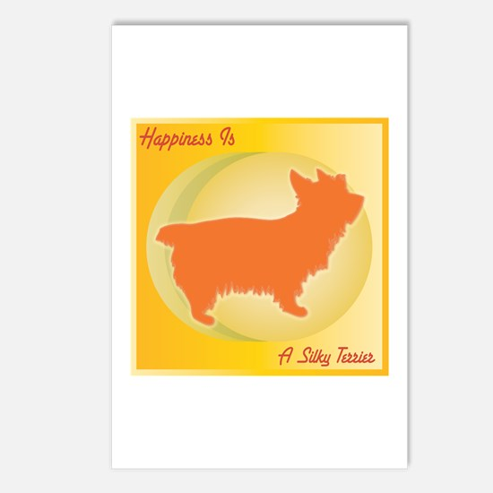 Silky Happiness Postcards (Package of 8)