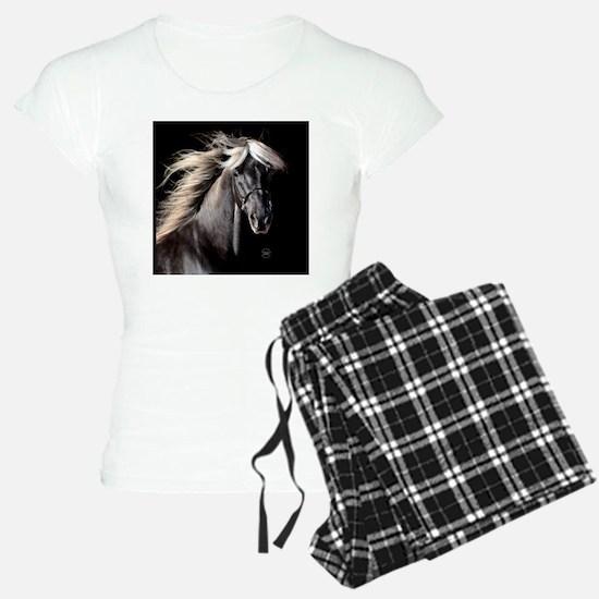 choco_horse_rnd Pajamas