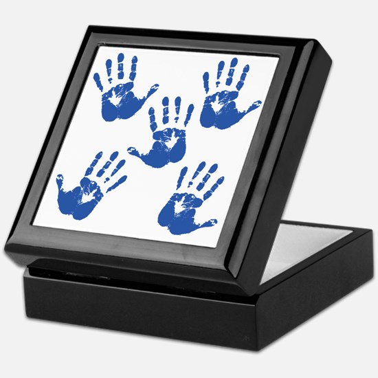 handprintBack Keepsake Box
