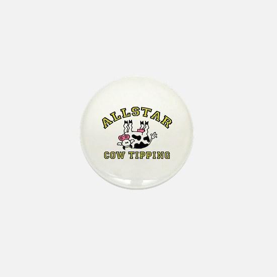 allstar cow tipping Mini Button