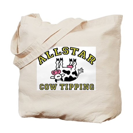 allstar cow tipping Tote Bag