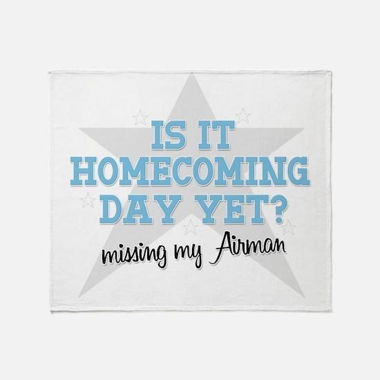 homecoming4 Throw Blanket