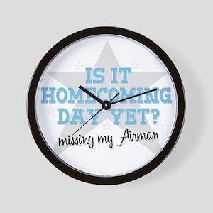 homecoming4 Wall Clock