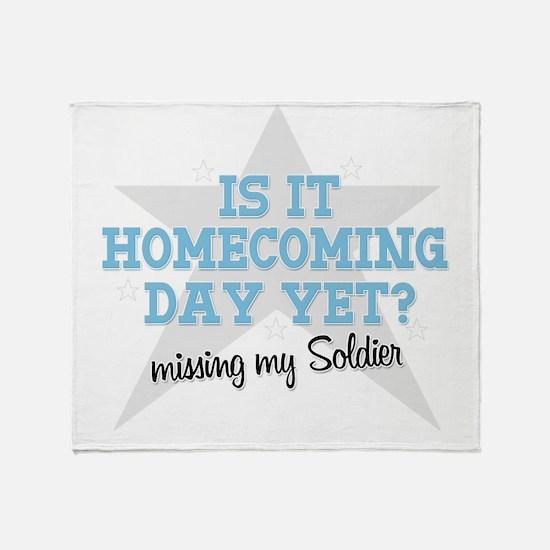 homecoming3 Throw Blanket