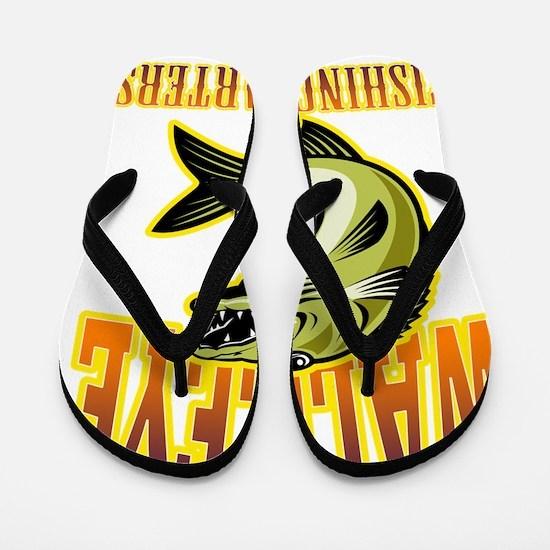 walleye fish fishing charters Flip Flops