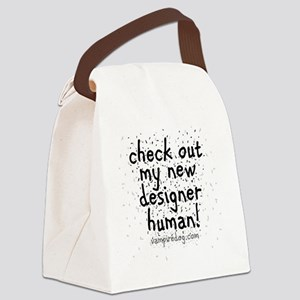 check out my new designer human 2 Canvas Lunch Bag