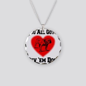 youall_gotta_luv_em_dogs Necklace Circle Charm