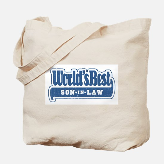 """""""World's Best Son-in-Law"""" Tote Bag"""