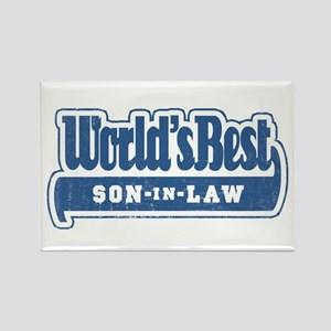 """""""World's Best Son-in-Law"""" Rectangle Magnet"""