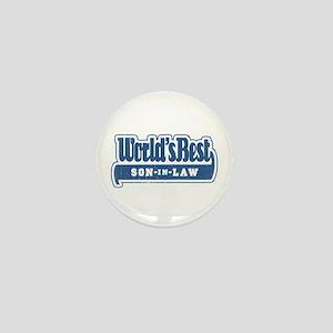"""World's Best Son-in-Law"" Mini Button"