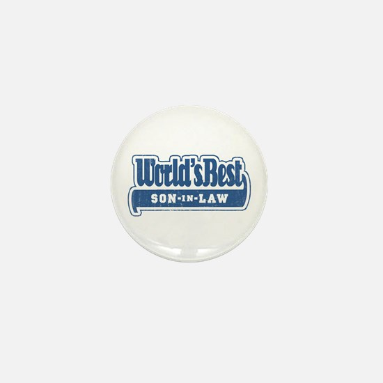 """World's Best Son-in-Law"" Mini Button"