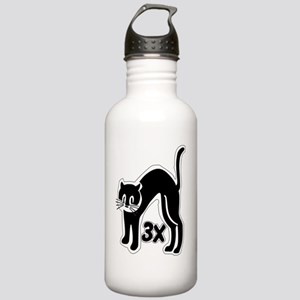 u48_cat_times_3 Stainless Water Bottle 1.0L