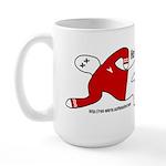 Red Shirt Society Large Mug