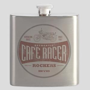 Vintage Cafe Racer Flask