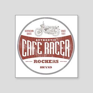 """Vintage Cafe Racer Square Sticker 3"""" x 3"""""""