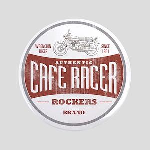 """Vintage Cafe Racer 3.5"""" Button"""