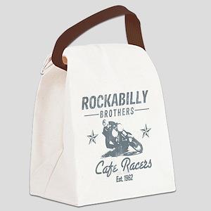 Rockabilly Canvas Lunch Bag