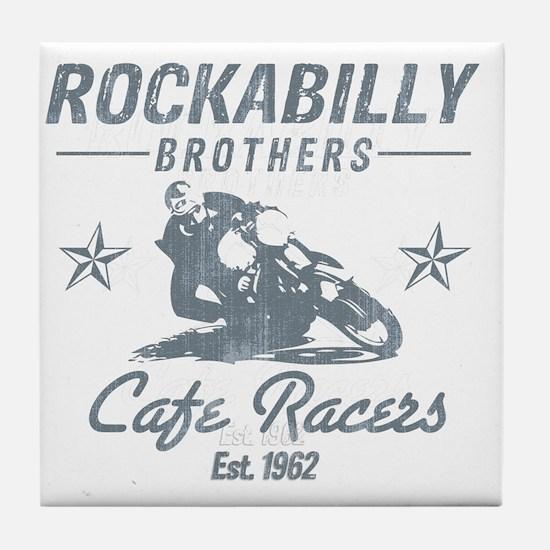 Rockabilly Tile Coaster