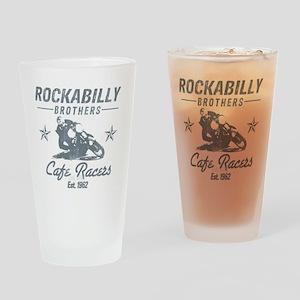 Rockabilly Drinking Glass