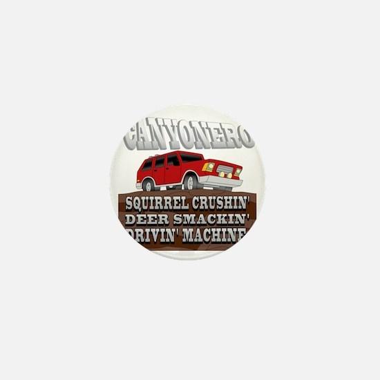 canyonero on black3-01 Mini Button