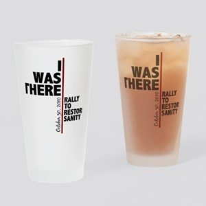 i was there sanity Drinking Glass