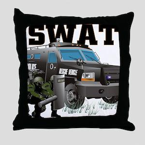 SWAT VEHICLE Throw Pillow