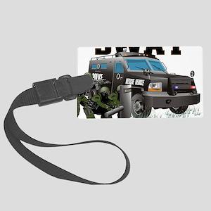 SWAT VEHICLE Large Luggage Tag