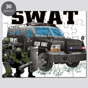 SWAT VEHICLE Puzzle