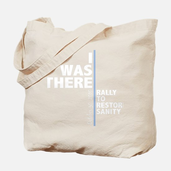 i was there sanity_dark Tote Bag