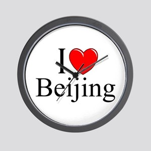 """I Love Beijing"" Wall Clock"