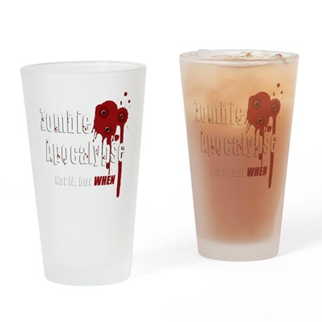 Bloody dark Drinking Glass