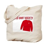 Red Shirt Society Tote Bag