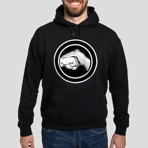 Kenpofistblack Hoodie (dark)