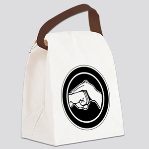 Kenpofistblack Canvas Lunch Bag