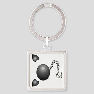 Ball1 Square Keychain
