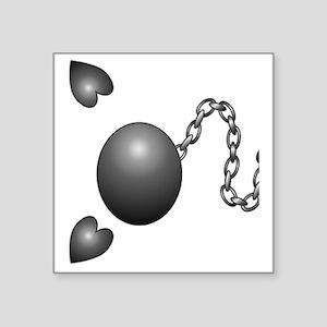 """Ball1 Square Sticker 3"""" x 3"""""""