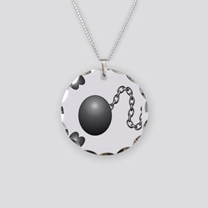 Ball1 Necklace Circle Charm
