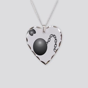 Ball1 Necklace Heart Charm