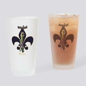 heaux-de-lis-DKT Drinking Glass