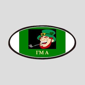 irish jewish ireland leprechaun leprecohen Patches