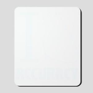 i_love_accuracy_light Mousepad